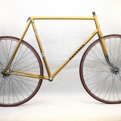 Gold Frame and Forks Peugeot PS10 Reynolds 531 Size 58