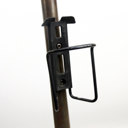 Porte bidon Spécialités T.A. noir avec visserie