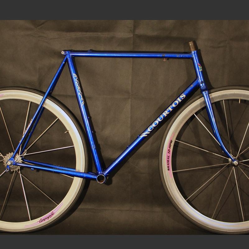 Blue rat's Frame & Forks Courtois Size 56