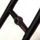 Black and purple frame and Forks Rossin Columbus Size 56