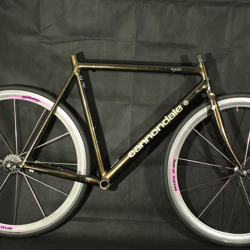Cadre & fourche noir Cannondale R400 T54