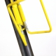 Black and Yellow T.A. bottle cage with screw