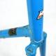 Cadre & fourche BleuMotoecane en Reynolds 531 rouge Taille 57,5
