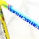 Cadre & fourche jaune Fondriest Dedacciai Megachrome T58