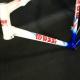 Cadre Bleu et blanc Massi Pro team Taille 54