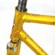 Gold Frame and Forks Arc en Ciel Size 52
