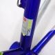 Cadre & fourche jaune et bleu Look KG233 Columbus Brain Taille 55