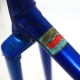 Cadre & fourche bleu en Durifort Gitane Criterium Taille 56.5