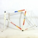 White frame and Forks Raleigh Maxi Sports Reynolds 753 Size 57