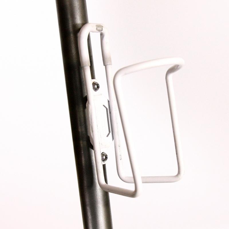 Porte bidon blanc en aluminium