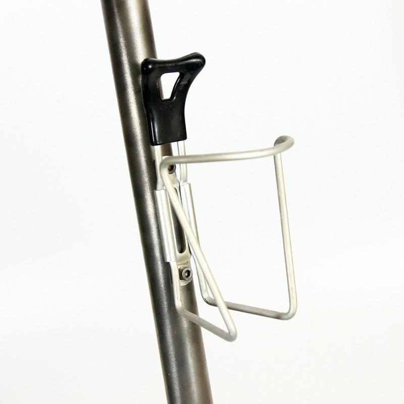 Bottle cage Reg black tip with screws