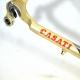 Light gold Mica pearl Frame and Forks Casati Stile Columbus Neuron Size 54