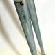 Cadre et fourche gris Parysak - fourche arrière monobras Taille 57