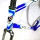 Cadre et fourche bleu et blanc Colnago Decor T51