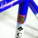 Blue and white columbus Thron Super frame & fork Colnago Decor Size 55,5