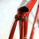 Orange and black Frame & Forks André Leduc by CBT Italia Size 54.5