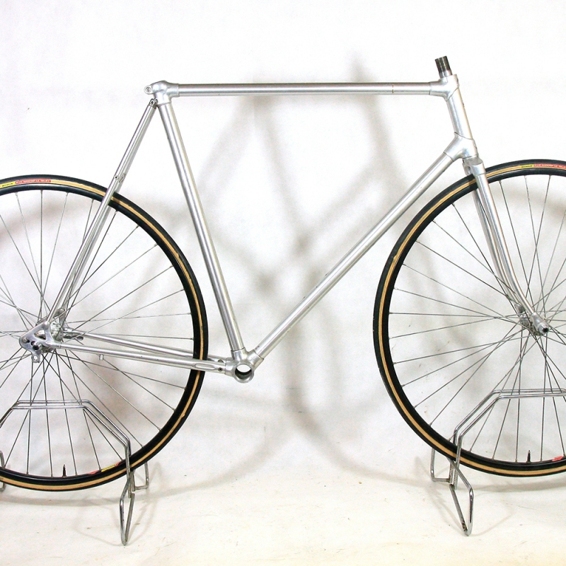 Silver Frame and Forks Alan Gitane Size 58