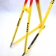 NEUF Cadre jaune rouge Vitus 792 Taille 54