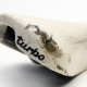 White Selle Italia Turbo Bernard Hinault saddle