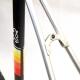 Cadre et fourche noir Peugeot PY10FC en fibre de carbone Taille 54