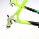 White green and black Frame and Forks Veneto Time Trial Size 56