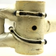 White frame and Forks Meral Columbus SL Size 54