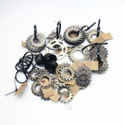 Black Spacer U Sachs freewheel
