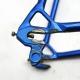 Cadre et fourche bleu Super Vitus 980 Profil Arcor T 54