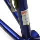 Cadre & fourche bleu Look KG171 Taille 57
