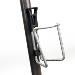Porte bidon gris Vuelta Tubular Cage avec visserie