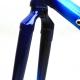 Cadre & fourche Bleu Veneto Columbus Brain T59