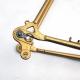 Gold Frame and Forks Peugeot PS10 Reynolds 531 Size 58
