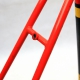 Red frame and Forks Raleigh Record Ace Size 58