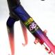 Cadre & fourche violet et rose Peugeot Racing Team Reynolds 653 T53
