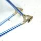 Cadre et fourche bleu Alan Taille 56