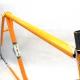Orange Frame and Fork Mongilardi Reynolds 531 Size 53