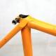 Cadre & fourche orange Mongilardi en Reynolds 531 Taille 53