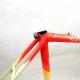 Cadre & fourche blanc rouge jaune en Vitus Cyclus 2000 Taille 54