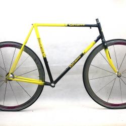 Cadre & fourche noir et jaune en Vitus GTI Gitane Team Replica Taille 56.5