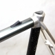 Silver Frame and Forks Discjet Mach 3 Size 55