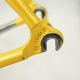 Yellow columbus Nemo frame and fork Bernard Hinault