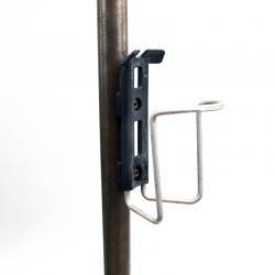 Porte bidon Spécialités T.A. noir et gris avec visserie