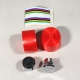 Benotto style handlebar tape - White Blue Red Silver Yellow Green Pink Black