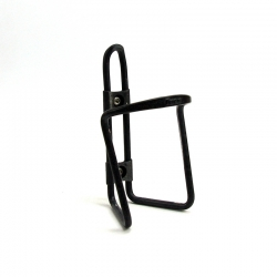 Black Tacx bottle cage with screw