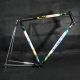 NOS Black NIVAX frame CBT italia Millenium Size 57