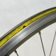 Rear Wheel Rigida DP18 champagne Sachs New Success Hub