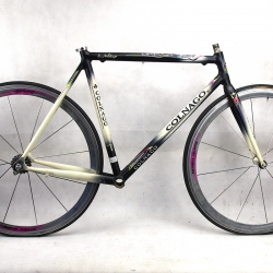Black and white frame & fork Colnago Dream Soft Paint Size 53