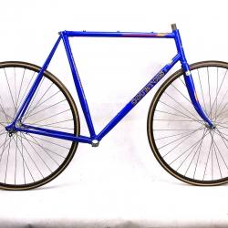 Cadre & fourche bleu Courtois Super Vitus 980 Profil Taille 56