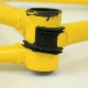 Cadre & fourche jaune en Vitus GTI Gitane Team Replica Taille 55.5