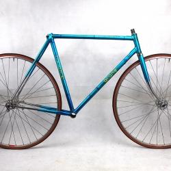 Cadre & fourche bleu Gitane Champion du Monde en Reynolds 531 Taille 53